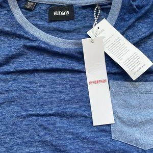Hudson Jeans Baseball Tee Size M NWT